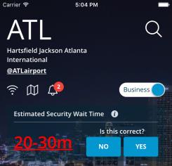 Atlanta - flightSpeak business mode