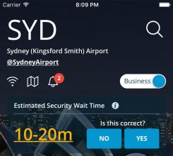 Sydney - flightSpeak business mode